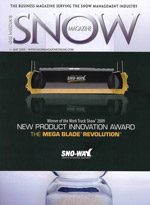 Snow Magazine cover image 2009